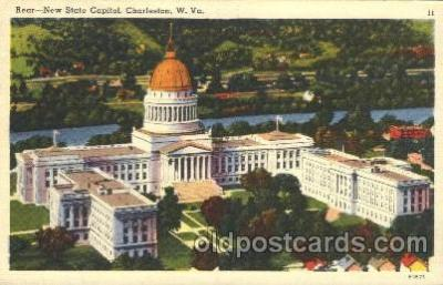 cap001054 - Charleston, Virginia, Va, USA State Capitol, Capitols Postcard Post Card