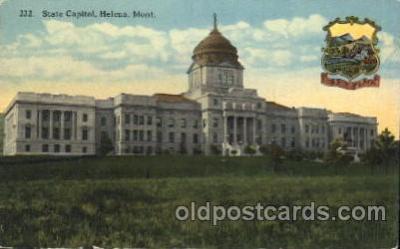 cap001088 - Helena, Montana, Mt, USA State Capitol, Capitols Postcard Post Card