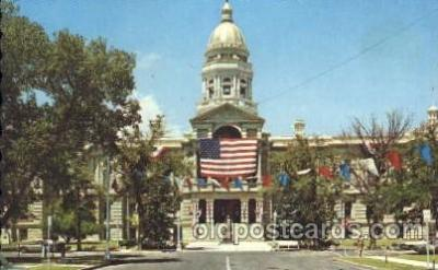 cap001105 - Wyoming, Wy, USA State Capitol, Capitols Postcard Post Card