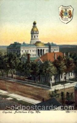 cap001146 - Jefferson City, Missouri, USA United States State Capital Building Postcard Post Card
