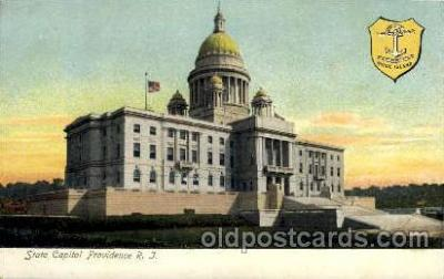 cap001158 - State Capital Providence, RI, Rhode Island, USA United States State Capital Building Postcard Post Card