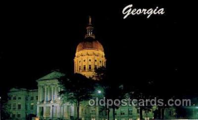 cap001174 - Georgia, USA United States State Capital Building Postcard Post Card