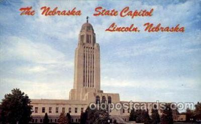 cap001181 - Lincoln, Neb, Nebraska, USA United States State Capital Building Postcard Post Card