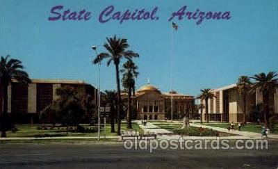 cap001191 - Arizona, USA United States State Capital Building Postcard Post Card