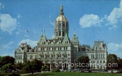 cap001195 - hartford, Connecticut, USA United States State Capital Building Postcard Post Card