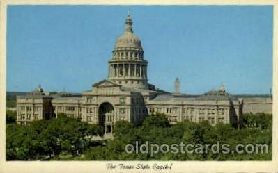 cap001196 - Texas, USA United States State Capital Building Postcard Post Card