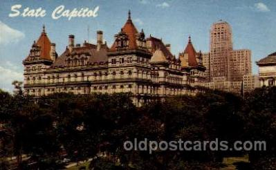 cap001204 - Albany, N.Y., USA United States State Capital Building Postcard Post Card