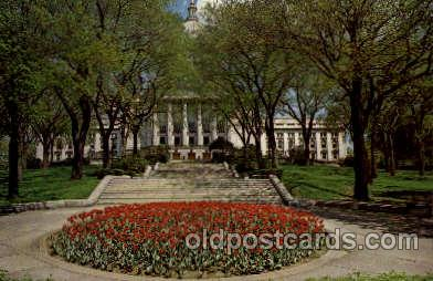 cap001207 - Madison, Wisconsin, USA United States State Capital Building Postcard Post Card