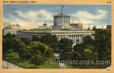 cap001234 - Columbus, Ohio, USA United States State Capital Building Postcard Post Card