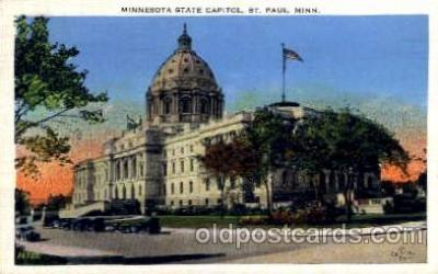 cap001257 - ST. Paul, Minnesota, USA United States State Capital Building Postcard Post Card