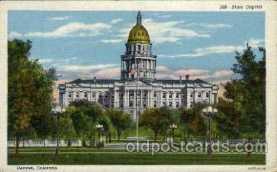 cap001269 - Denver, Colorado, USA United States State Capital Building Postcard Post Card