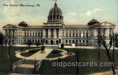 cap001273 - Harrisburg, PA, Pennsylvania, USA United States State Capital Building Postcard Post Card
