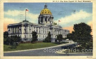 cap001276 - ST. Paul, Minnesota, USA United States State Capital Building Postcard Post Card