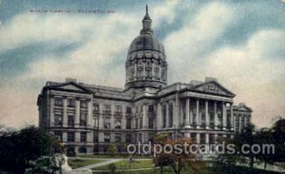 cap001281 - Atlanta, GA, Georgia, USA United States State Capital Building Postcard Post Card