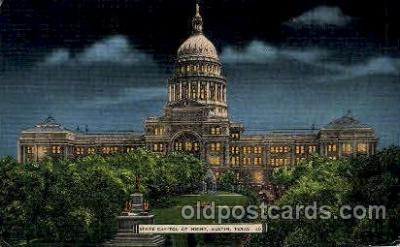 cap001286 - Austin, Texas, USA United States State Capital Building Postcard Post Card