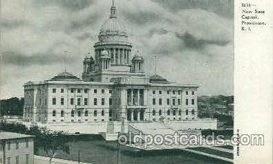 cap001287 - New State Capital, Providence, RI, Rhode Island, USA United States State Capital Building Postcard Post Card