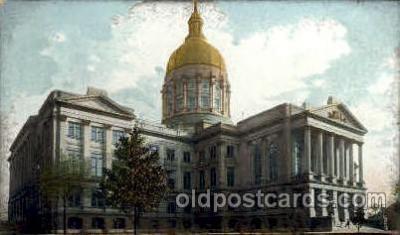 cap001290 - Atlanta, GA, Georgia, USA United States State Capital Building Postcard Post Card
