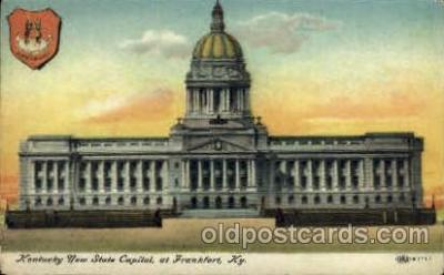 cap001305 - Frankfort, KY, Kentucky, USA United States State Capital Building Postcard Post Card