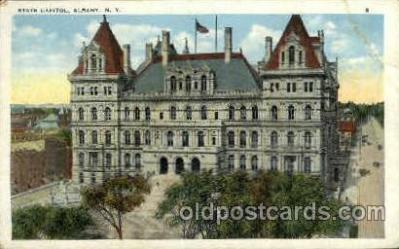cap001316 - Albany, N.Y., USA United States State Capital Building Postcard Post Card
