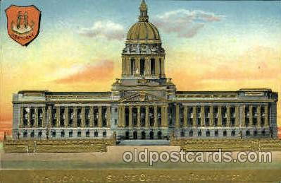 cap001336 - Kentucky, USA United States State Capital Building Postcard Post Card