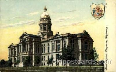 cap001339 - Cheyenne, Wyoming, USA United States State Capital Building Postcard Post Card