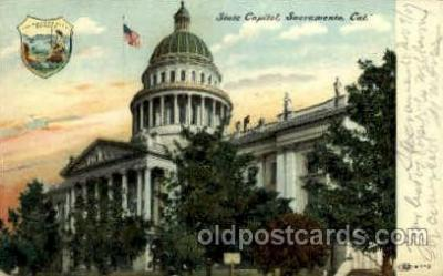 cap001354 - Sacramento, Cal. California, USA United States State Capital Building Postcard Post Card