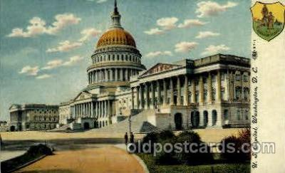 cap001376 - Washington DC, USA United States State Capital Building Postcard Post Card