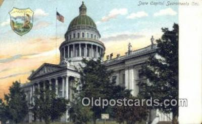 cap001380 - Sacramento, California, CA  State Capital, Capitals Postcard Post Card USA