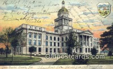 cap001382 - Lincoln, Nebraska, NE  State Capital, Capitals Postcard Post Card USA
