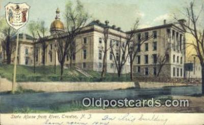 cap001383 - Trenton, New Jersey, NJ  State Capital, Capitals Postcard Post Card USA