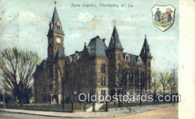 cap001387 - Charleston, West Virginia, WV State Capital, Capitals Postcard Post Card USA
