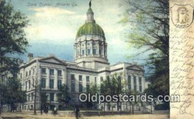 cap001396 - Atlanta, Georgia, GA State Capital, Capitals Postcard Post Card USA