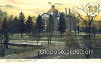 cap001400 - Augusta, Maine, ME State Capital, Capitals Postcard Post Card USA