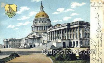 cap001402 - Washington DC State Capital, Capitals Postcard Post Card USA