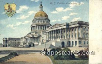 cap001416 - Washington DC State Capital, Capitals Postcard Post Card USA