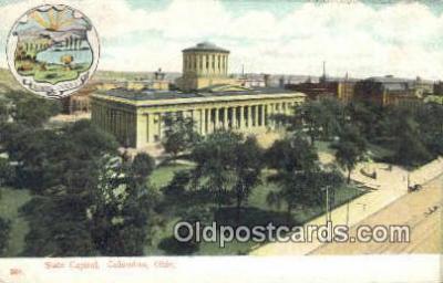 cap001430 - Columbus, Ohio, OH  State Capital, Capitals Postcard Post Card USA