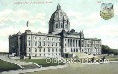 cap001441 - St Paul, Minnesota, MN  State Capital, Capitals Postcard Post Card USA