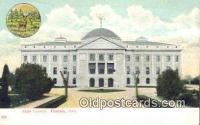 cap001445 - Phoenix, Arizona, AZ State Capital, Capitals Postcard Post Card USA