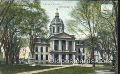 cap001454 - Concord, New Hampshire, NH State Capital, Capitals Postcard Post Card USA