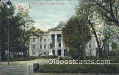 cap001455 - Raleigh, North Carolina, NC  State Capital, Capitals Postcard Post Card USA