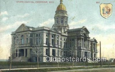 cap001460 - Cheyenne, Wyoming, WY  State Capital, Capitals Postcard Post Card USA