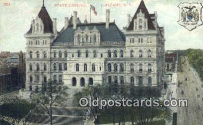 cap001468 - Albany, New York, NY  State Capital, Capitals Postcard Post Card USA
