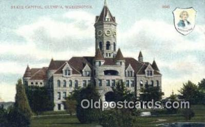 cap001472 - Olympia, Washington, WA  State Capital, Capitals Postcard Post Card USA
