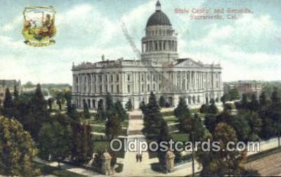 cap001473 - Sacramento, California, CA  State Capital, Capitals Postcard Post Card USA