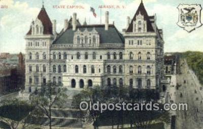 cap001476 - Albany, New York, NY  State Capital, Capitals Postcard Post Card USA
