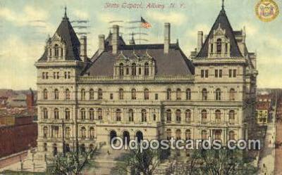 cap001480 - Albany, New York, NY  State Capital, Capitals Postcard Post Card USA