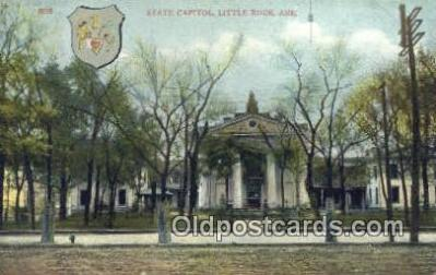 cap001481 - Little Rock, Arkansas, AR State Capital, Capitals Postcard Post Card USA