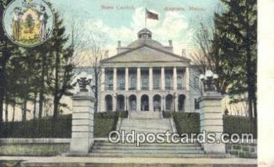 cap001485 - Augusta, Maine, ME State Capital, Capitals Postcard Post Card USA