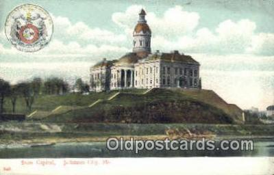 cap001489 - Jefferson, Missouri, MO  State Capital, Capitals Postcard Post Card USA