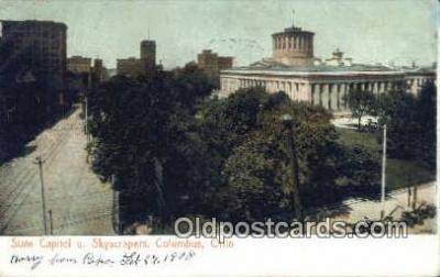 cap001497 - Columbus, Ohio, OH  State Capital, Capitals Postcard Post Card USA